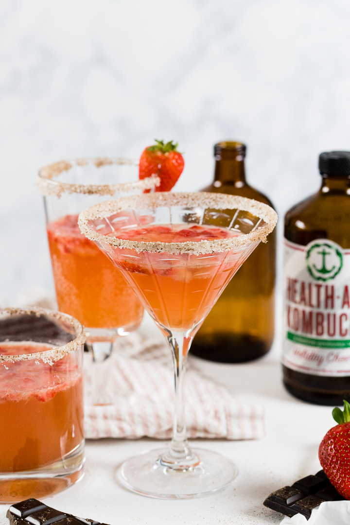 Kombucha Cocktails and Mocktails: DIY New Year's Eve Kombucha Bar